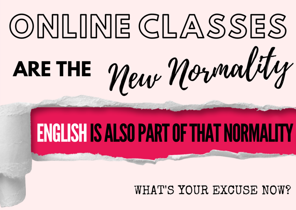 English is also part of that normality